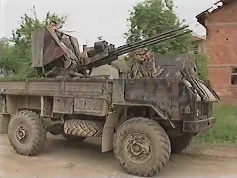 CNN Serb Assault on Brcko Bosnia