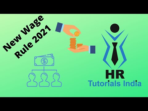 New Wage Rule 2021 || New Code of Wages || HR Tutorials India || How Net Salary will be Impacted?
