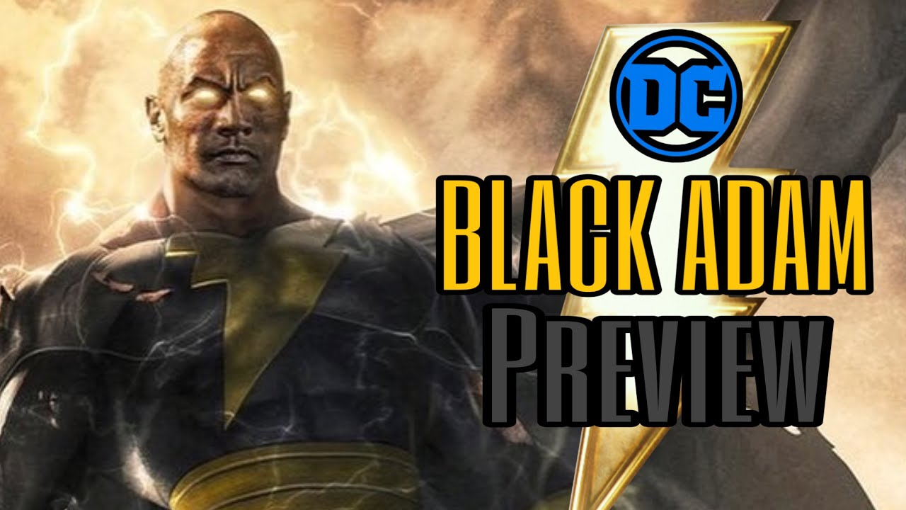 Black Adam Teaser review and preview