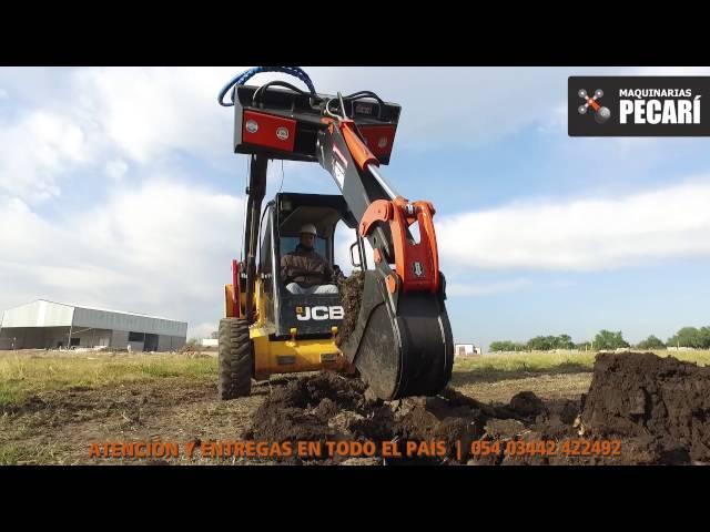 Implemento Retroexcavador Pivotante | 2016