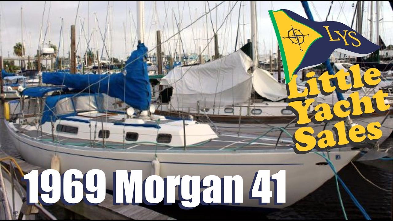 sold 1969 charlie morgan 41 sailboat for sale at little. Black Bedroom Furniture Sets. Home Design Ideas
