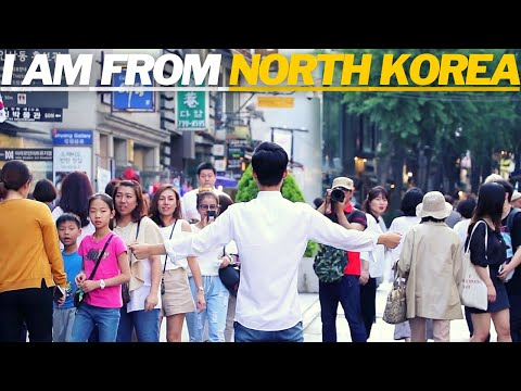 I am a North Korean Defector, Would You Hug me? [Social Experiment In South Korea]
