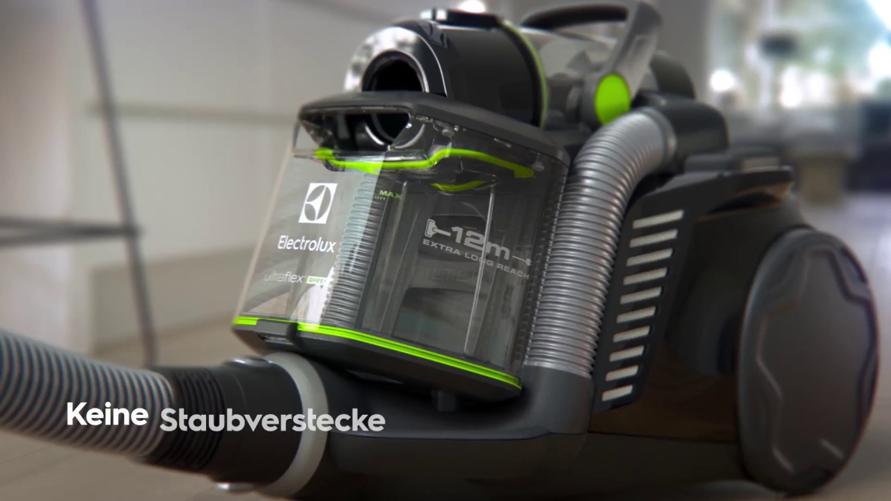 beutelloser staubsauger aus recyclingmaterial ultraflex zufgreen youtube. Black Bedroom Furniture Sets. Home Design Ideas