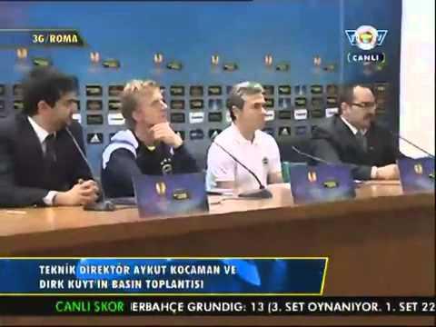 Aykut Kocaman ve Dirk Kuyt'ın Basın Toplantısı