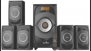 Jack Martin 5.1 home theater speaker system