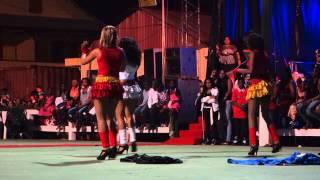 Sexy Brazilian Girls Dancing in Mana Patronal Party, French Guyana 1