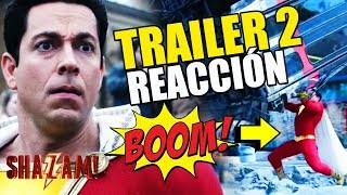 SHAZAM! - TRAILER 2 REACCIÓN - REACTION - REVIEW - WARNER - DC - BATMAN - SUPERMAN
