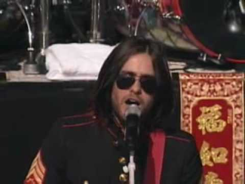 30 seconds to mars - A beautiful lie (Live HQ)
