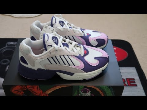 ad5d9a92c0b Adidas Yung-1 Dragon Ball Z Frieza Sneaker Unboxing