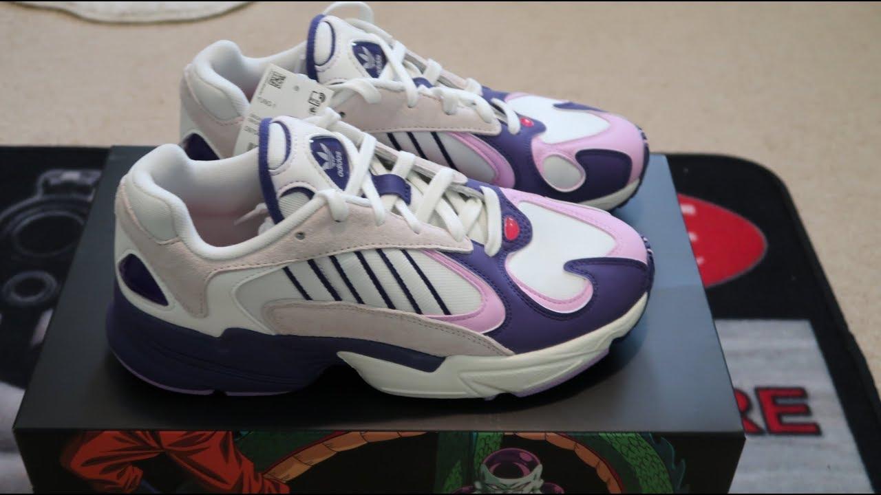 Adidas Yung-1 Dragon Ball Z Frieza Sneaker Unboxing - YouTube 3f1b211e2