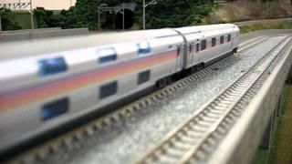 TOMIXの鉄道模型「寝台特急カシオペア」です。 EF81形電気機関車+E26系...