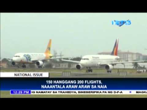 NAIA records 150-200 delayed flights daily