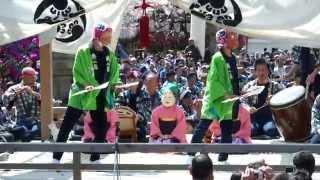 2015/04/04土曜日 三社祭礼囃子演技奉納祭~新屋町(あ組) ※風切り音はご...
