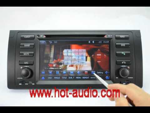 car dvd player for bmw e39 e53 x5 dvd gps bluetooth. Black Bedroom Furniture Sets. Home Design Ideas