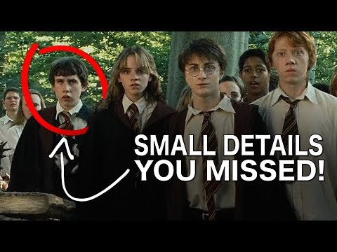Small Details you MISSED in the Harry Potter Movies Part 2
