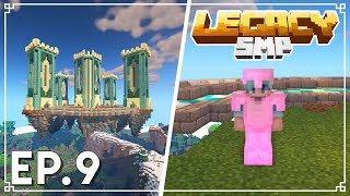 The MEGA BASE Is DONE! - Legacy SMP 1.15 Survival Minecraft - Ep.9