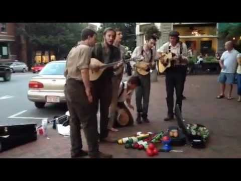 Asheville, NC - Biltmore Ave buskers