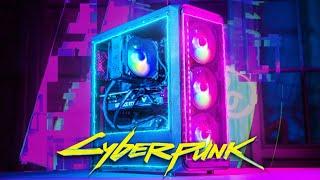 Сборка кибер-ПК для CyberPunk 2077 на ультрах 🔥 Я В ШОКЕ!!!