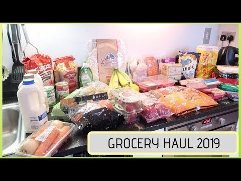 DUNNES STORES GROCERY HAUL || IRISH GROCERY HAUL
