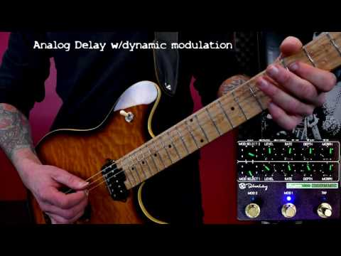 Keeley Super Mod Workstation - every effect