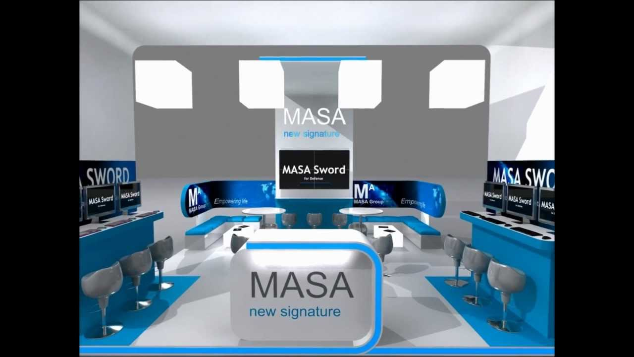Exhibition Stand Design Masa 3d Stand Animation Youtube