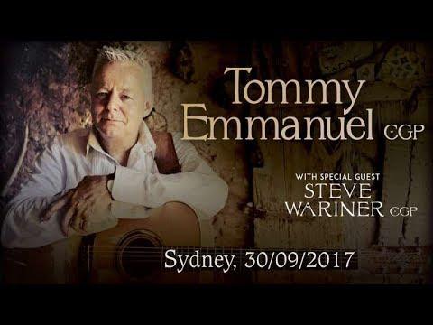 Tommy Emmanuel – Guitar Boogie [4K] / Live @ Opera House, Sydney, 30/09/2017
