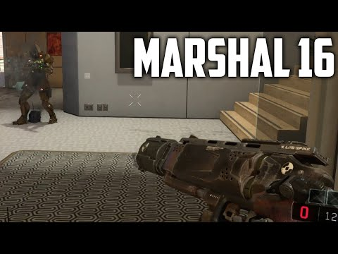 DE MARSHAL 16 SILENCED MATCH! (COD: Black Ops 3)