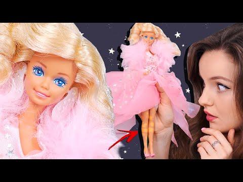 Кукле 32 года! Ее ноги меня пугают… Обзор и распаковка Barbie SuperStar 1988
