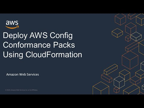 Deploy AWS Config Conformance Packs Using CloudFormation