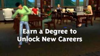 The Sims 2 University (mac) -- Video Of Trailer For The Sims 2 University | Aspyr Media