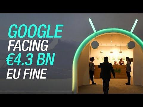 Google Fined Record $5 Billion by EU