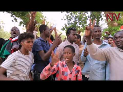 Protestors in Sudan demand a Civilian -Led Government