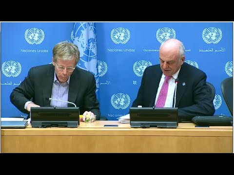 Dr. David Nabarro and Dr. Bruce Aylward on Ebola response - Press Conference