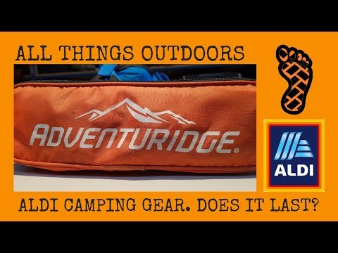 ALDI Camping Gear. Does It Last??