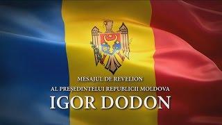 Președintele Republicii Moldova Igor Dodon felicită poporul cu Anul Nou!