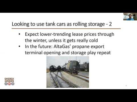 Energy Transport Insider video update Oct  20