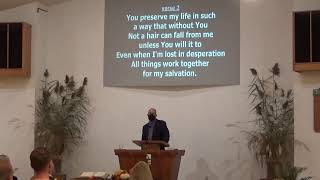 October 25 Worship