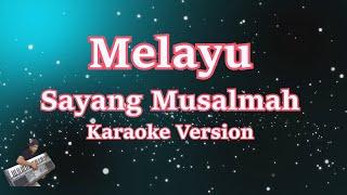 Sayang almah- Melayu (Karaoke Lirik Tanpa Vocal) Cover