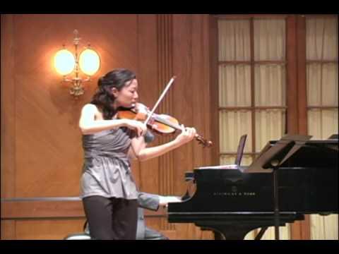 Stephanie Jeong and Hugh Sung perform Beethoven Violin Sonata No. 8 in G major, Op. 30 No. 3