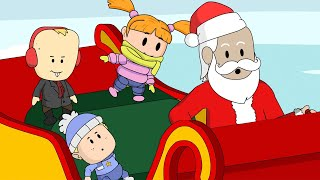 Visiting Santa's Toy Shop in the North Pole! Baby Alan Cartoon Christmas Special.mp3