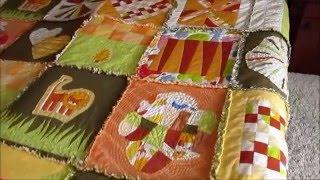 Kuschel Quilt 28-teilig DIY für Fortgeschrittene
