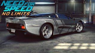 Need For Speed NO LIMITS JAGUAR XJ220 ЮНИОН ДЖЕК
