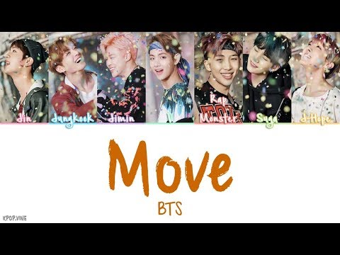 BTS (방탄소년단) - Move (이사) [Color coded Han|Rom|Eng Lyrics] | by Kpop.vine