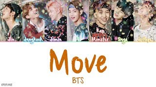 Download song BTS (방탄소년단) - Move (이사) [Color coded Han|Rom|Eng Lyrics] | by Kpop.vine