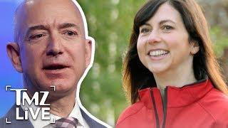 Jeff and MacKenzie Bezos Make $137 Billion Divorce Official | TMZ Live