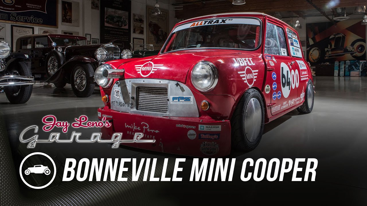 Bonneville mini cooper jay leno 39 s garage youtube for Garage mini cooper annemasse
