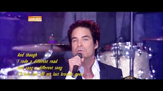 Train - Angel In Blue Jeans [ live 2014 ]( lyrics )
