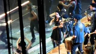 MADONNA Open Your Heart w/son ROCCO RITCHIE Dancers Sexy BLACK LEATHER