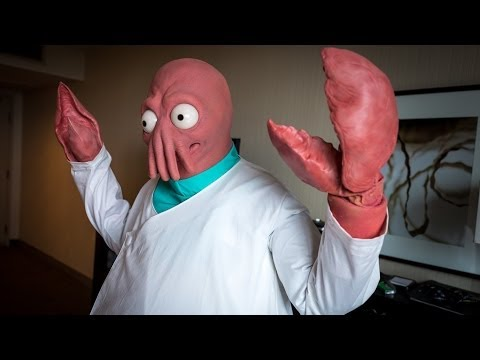 Making a Real-Life Zoidberg Costume!