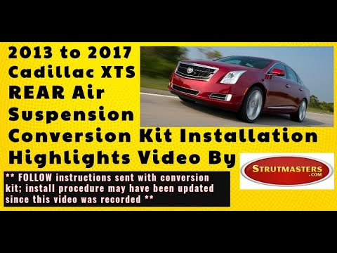 How To Repair The Rear Suspension On A Cadillac XTS Models 2013 And Up